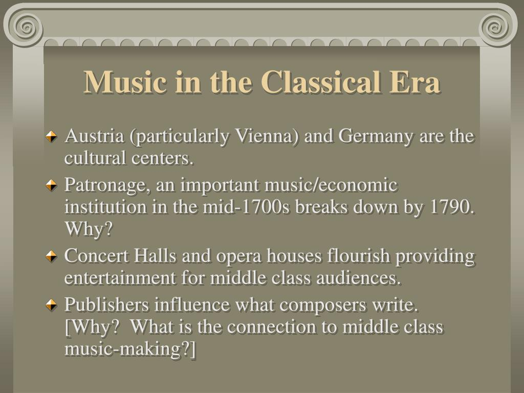 Music in the Classical Era