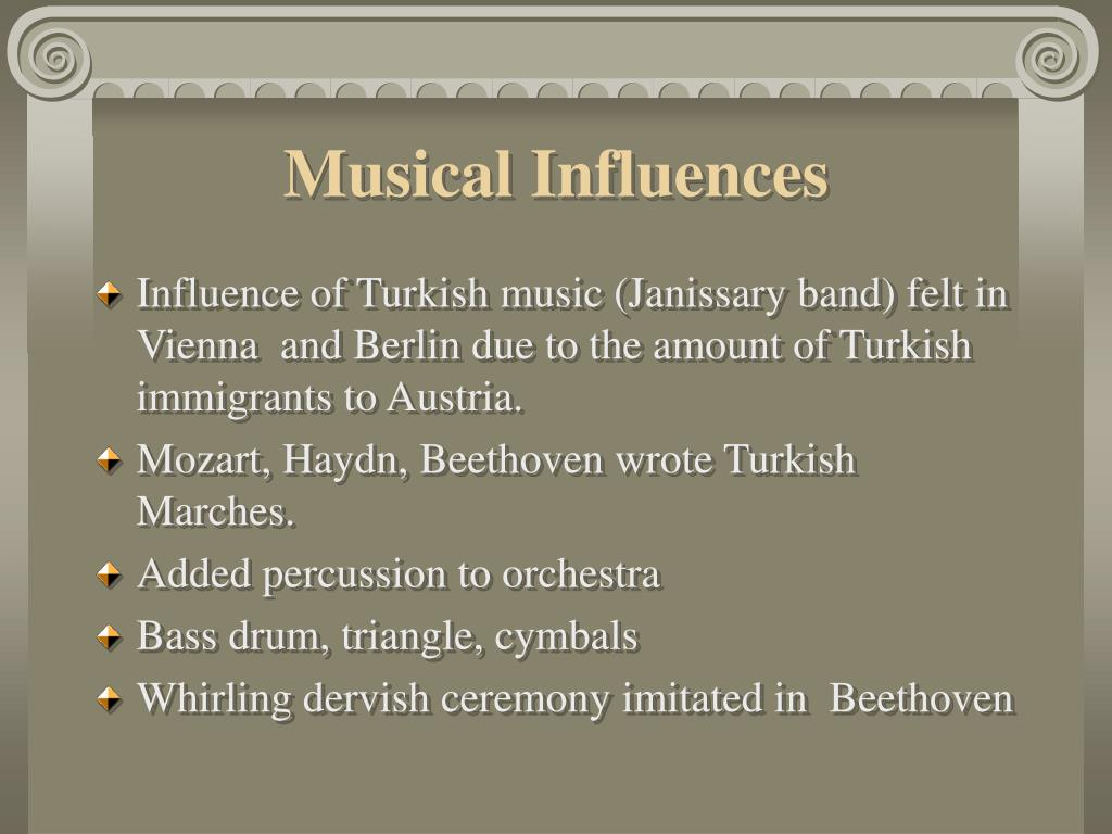 Musical Influences