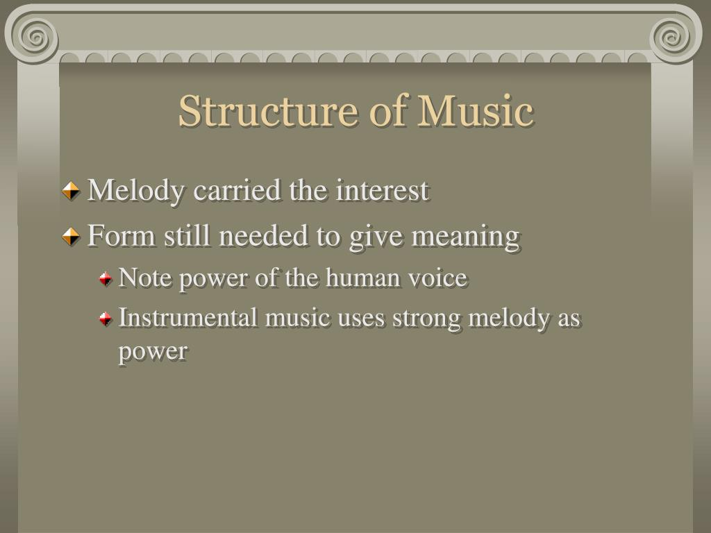 Structure of Music