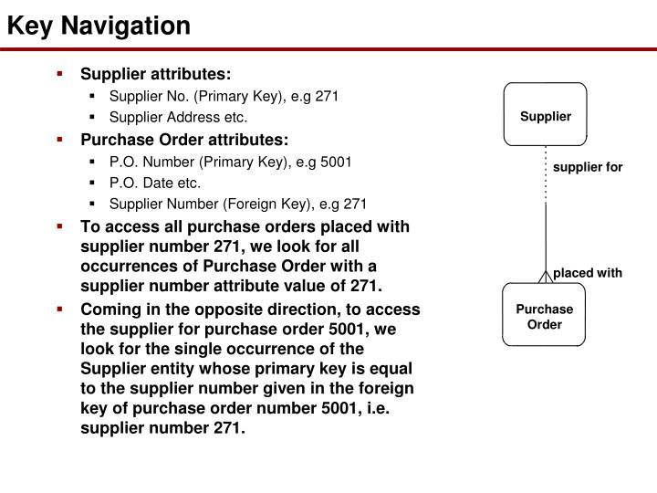 Key Navigation