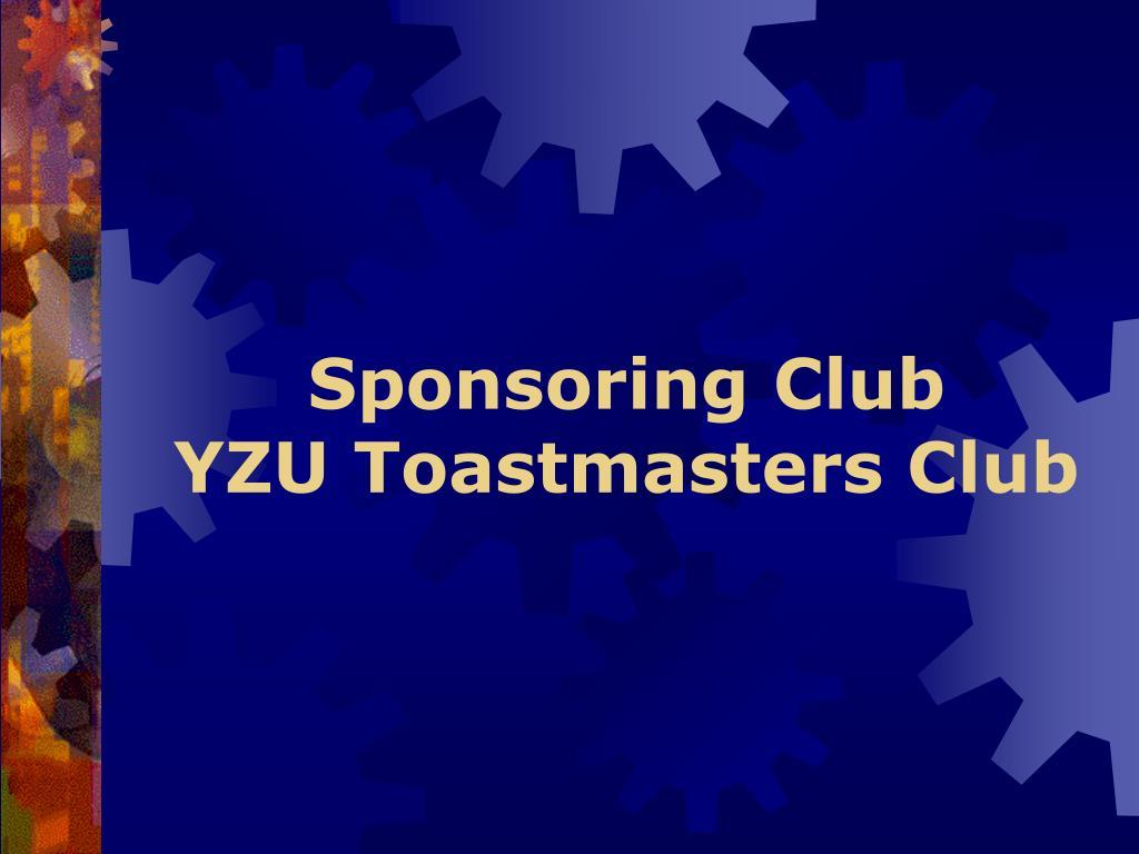 Sponsoring Club