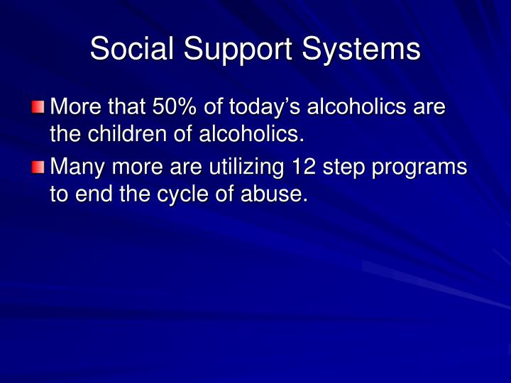 Social Support Systems