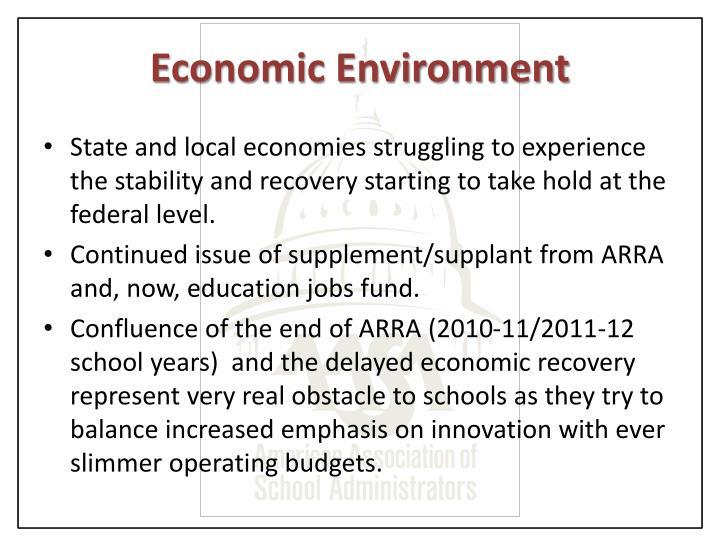 Economic Environment