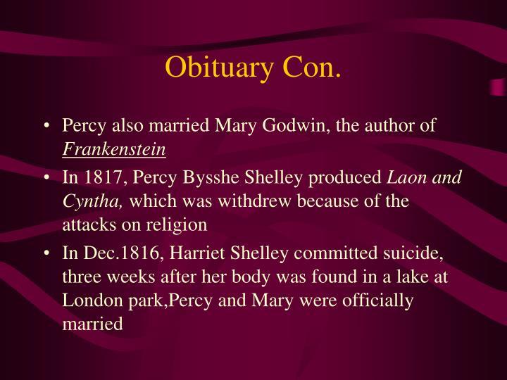 Obituary Con.