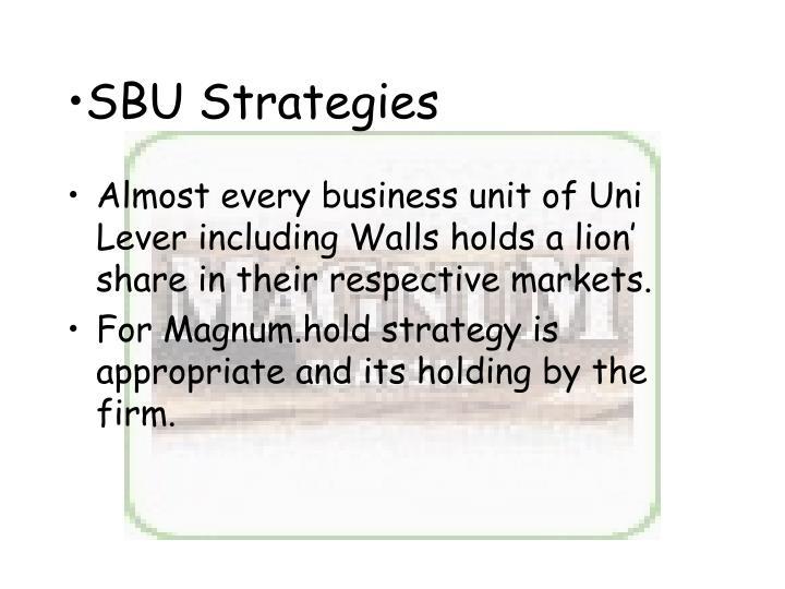 SBU Strategies