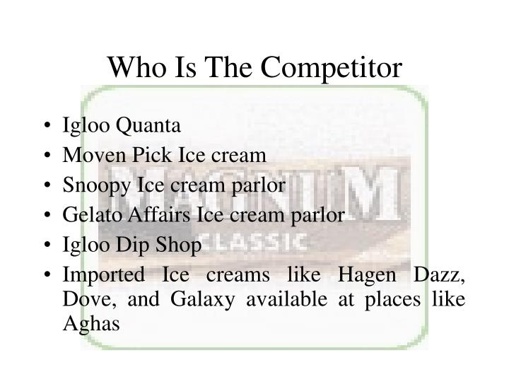 Who Is The Competitor
