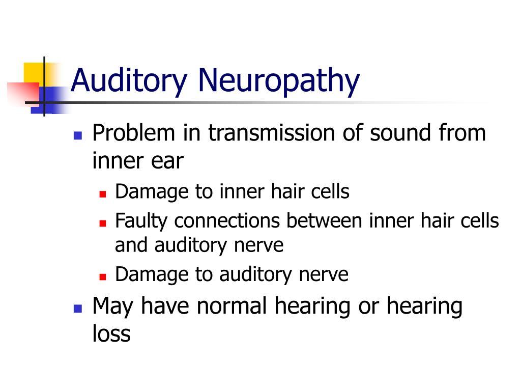 Auditory Neuropathy