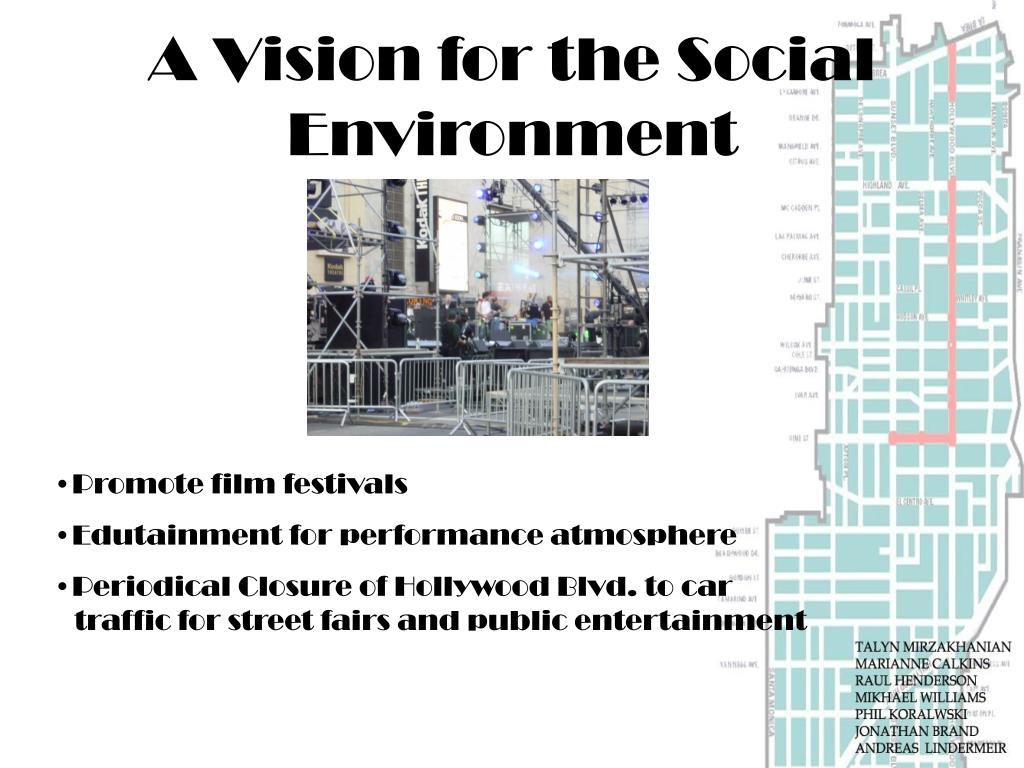 A Vision for the Social Environment