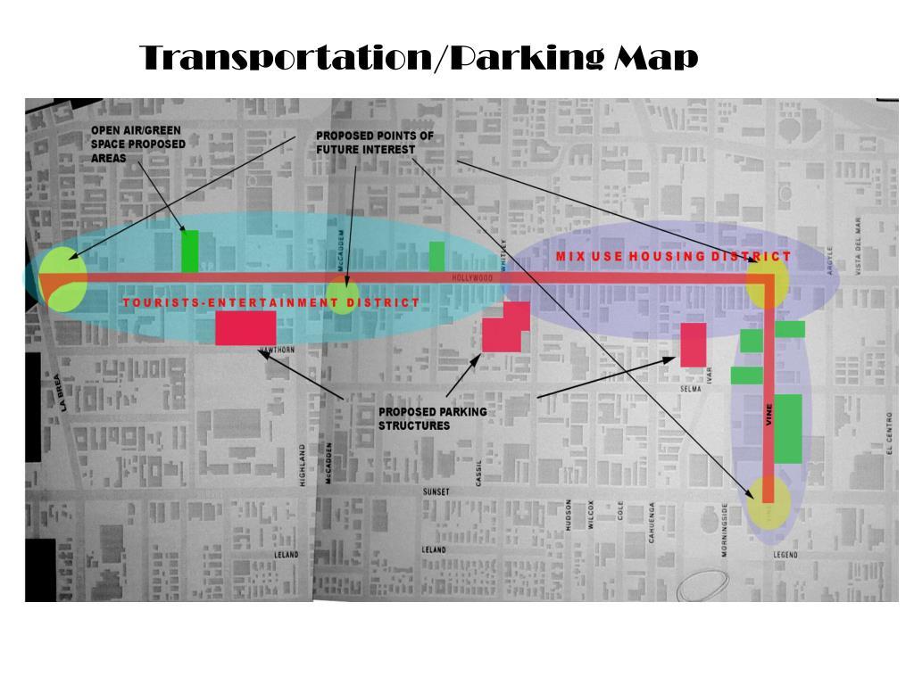 Transportation/Parking Map