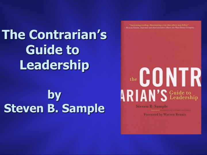 The Contrarian's