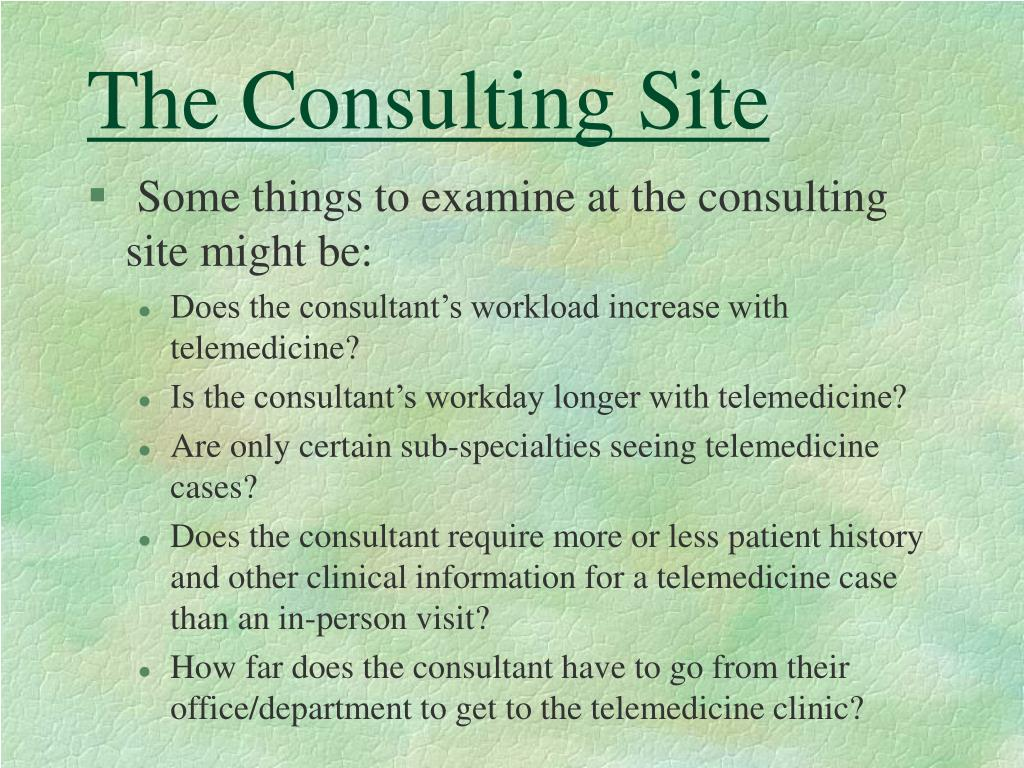 The Consulting Site