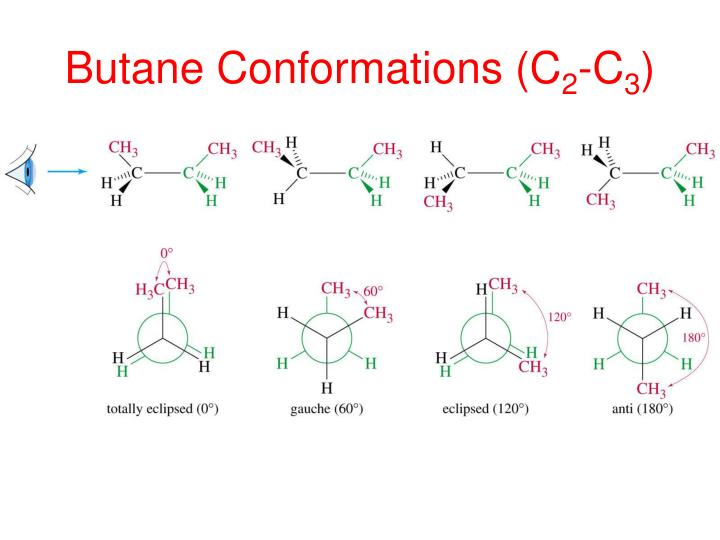 Butane Conformations (C