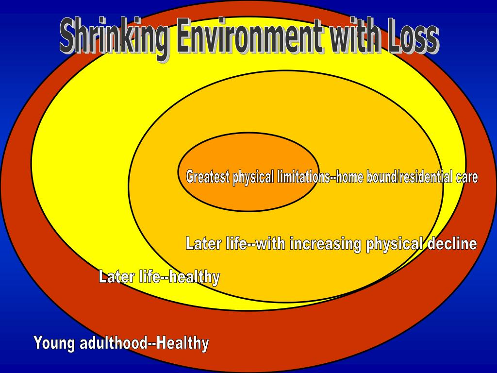 Shrinking Environment with Loss