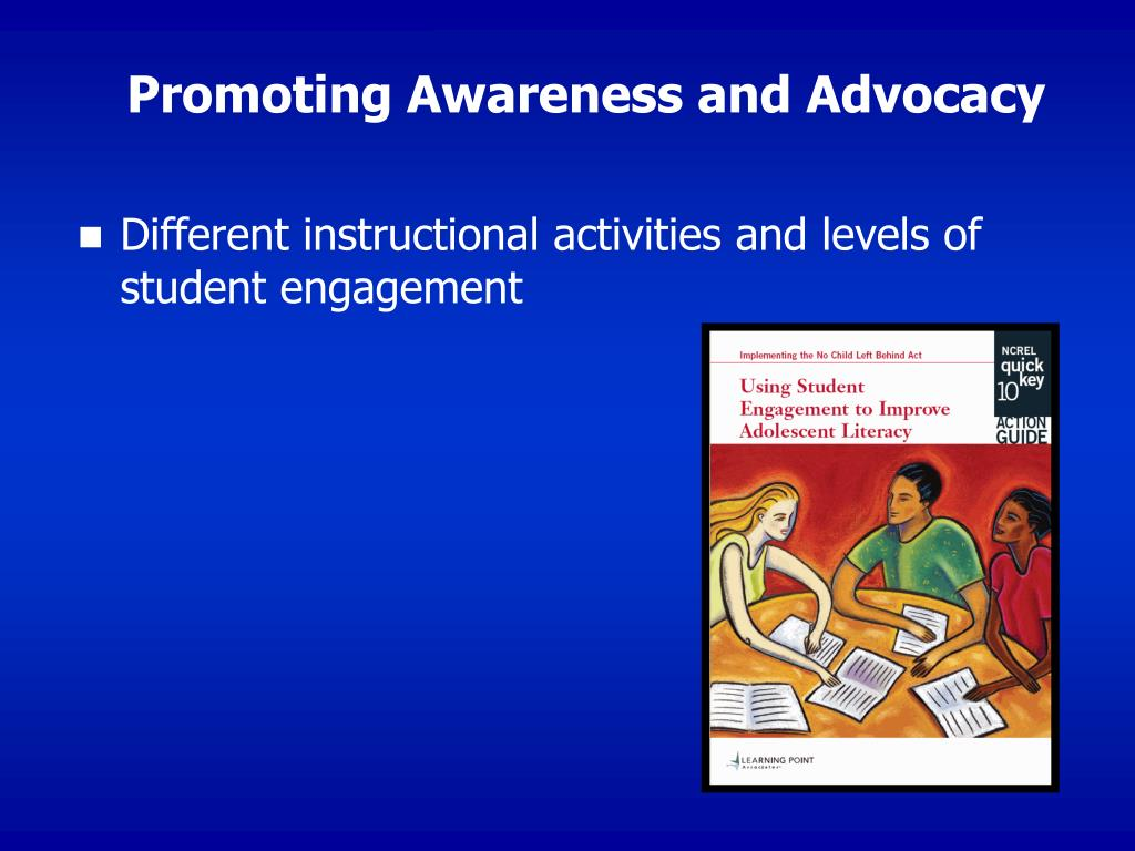 Promoting Awareness and Advocacy