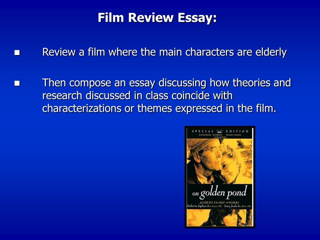 Film Review Essay: