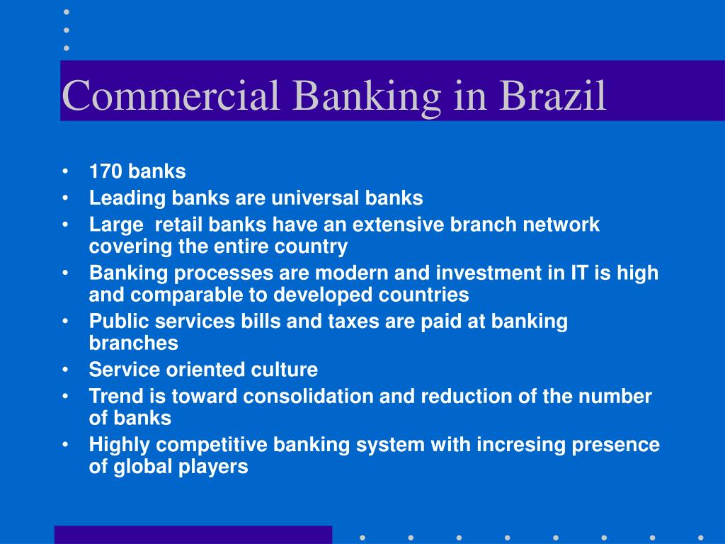 Commercial Banking in Brazil