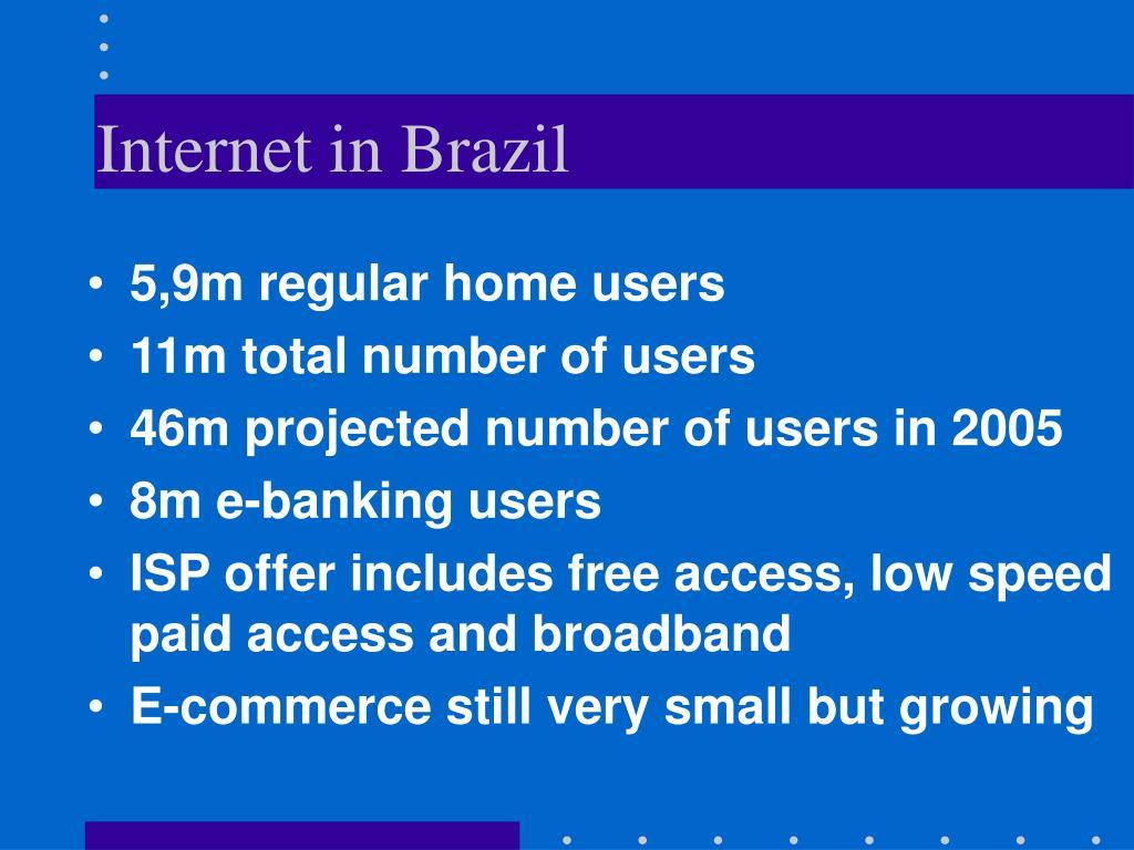 Internet in Brazil