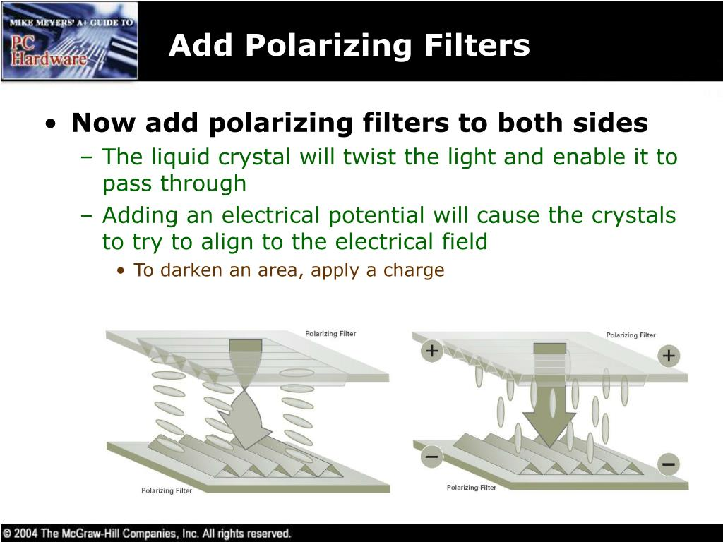 Add Polarizing Filters