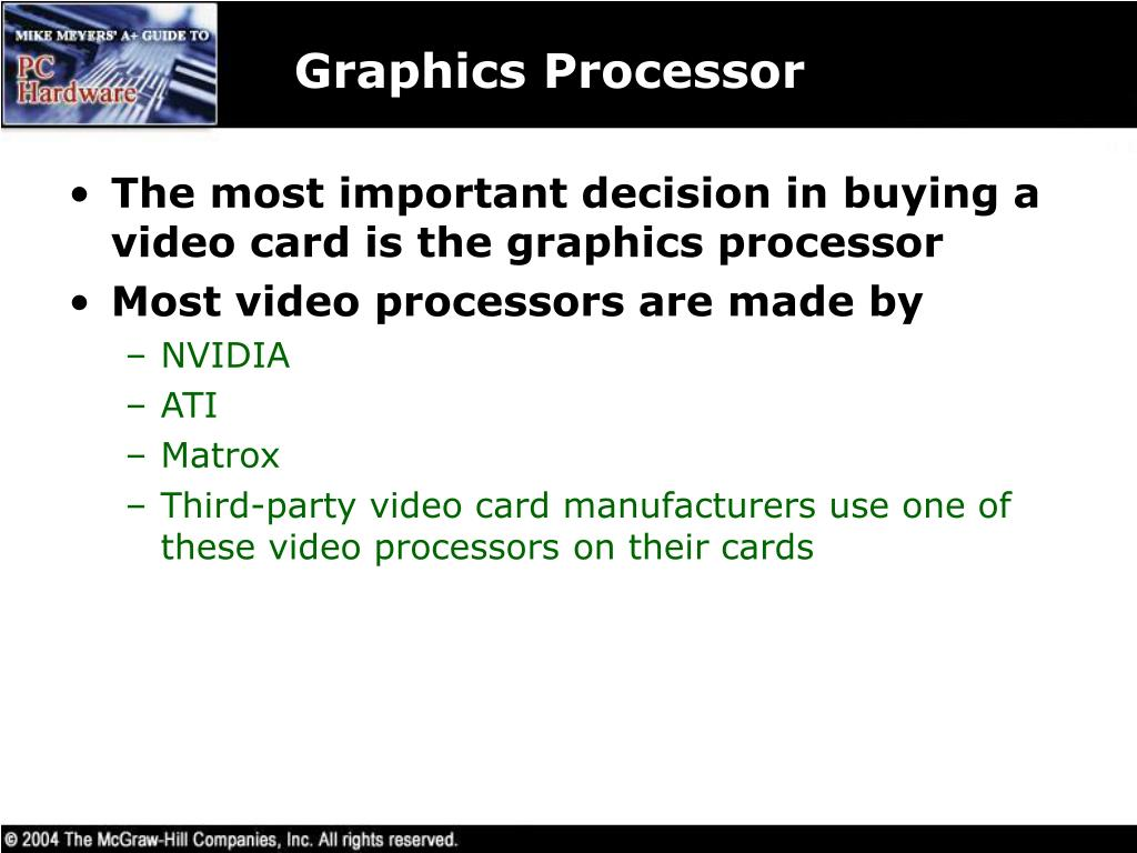 Graphics Processor