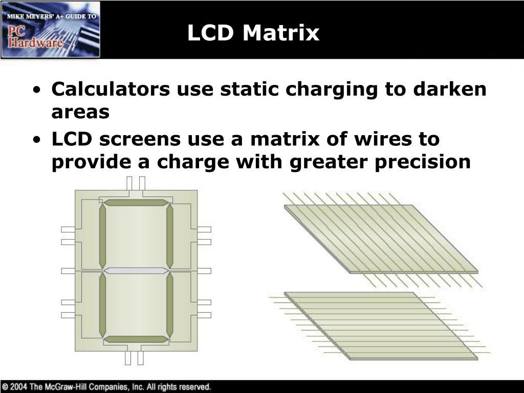 LCD Matrix