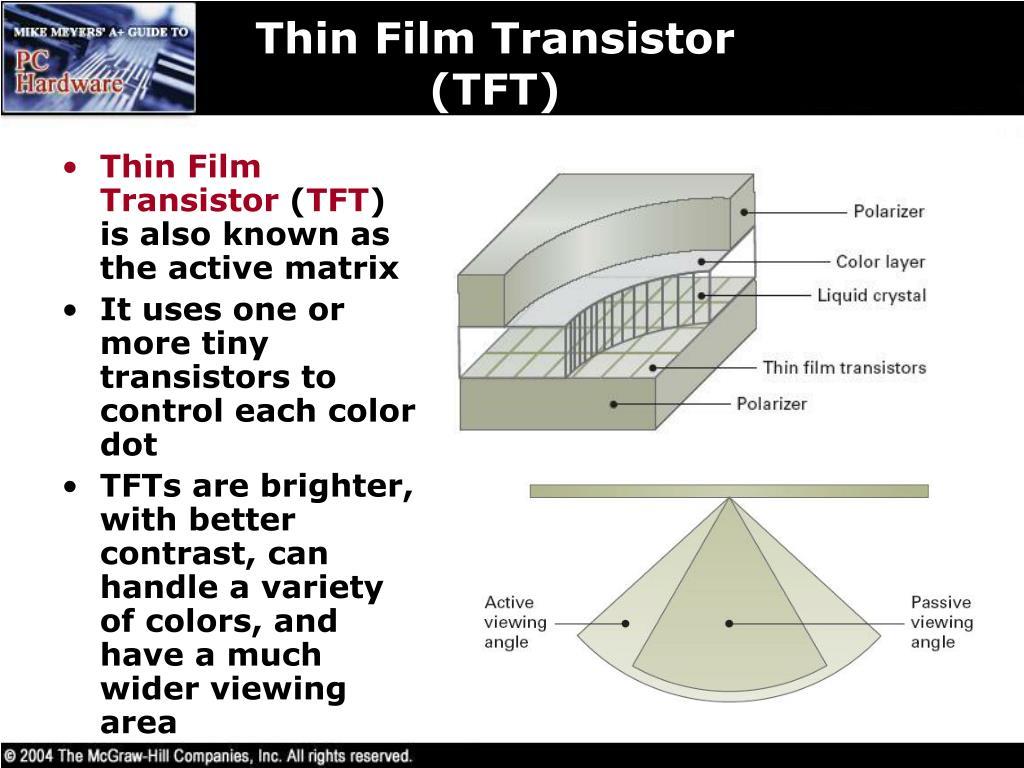 Thin Film Transistor (TFT)