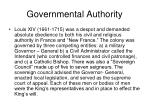 governmental authority