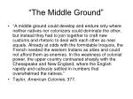 the middle ground29