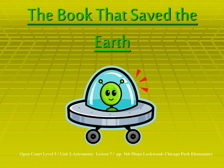 The book that saved the earth l.jpg