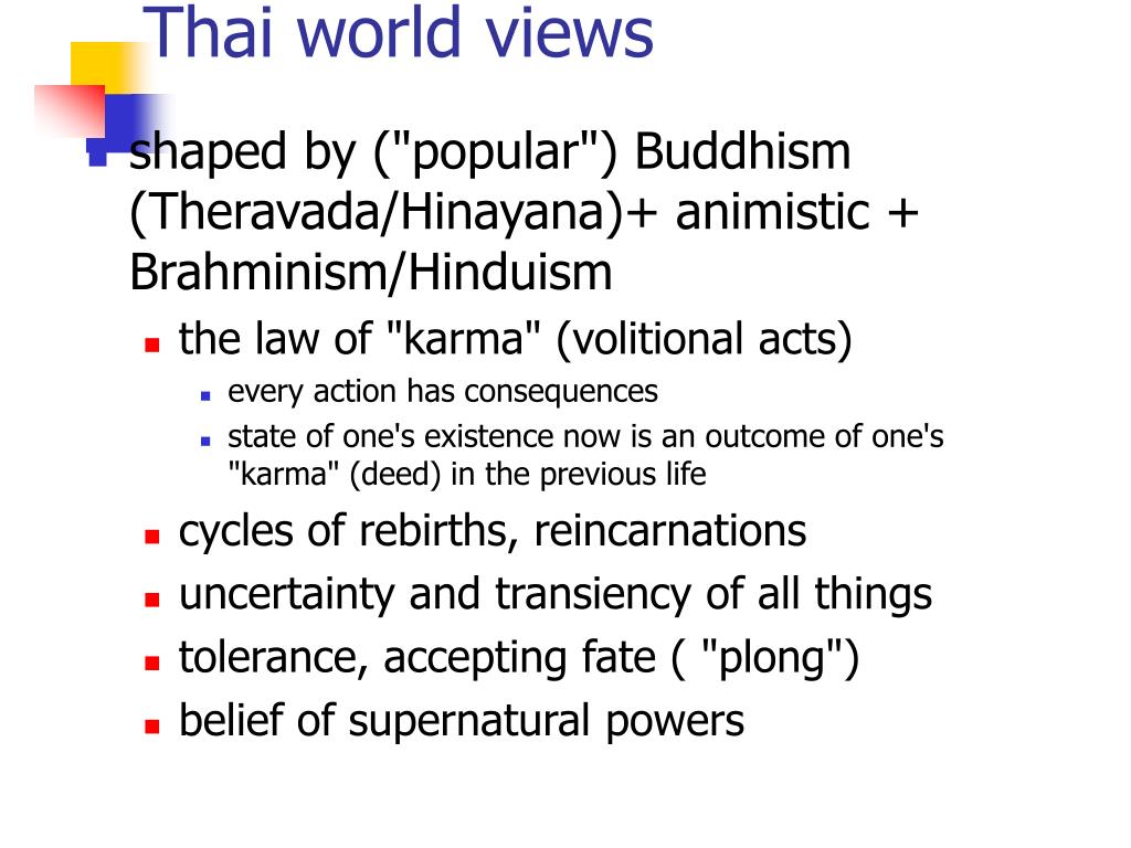 Thai world views