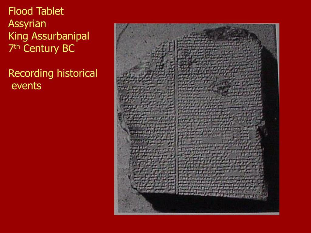 Flood Tablet