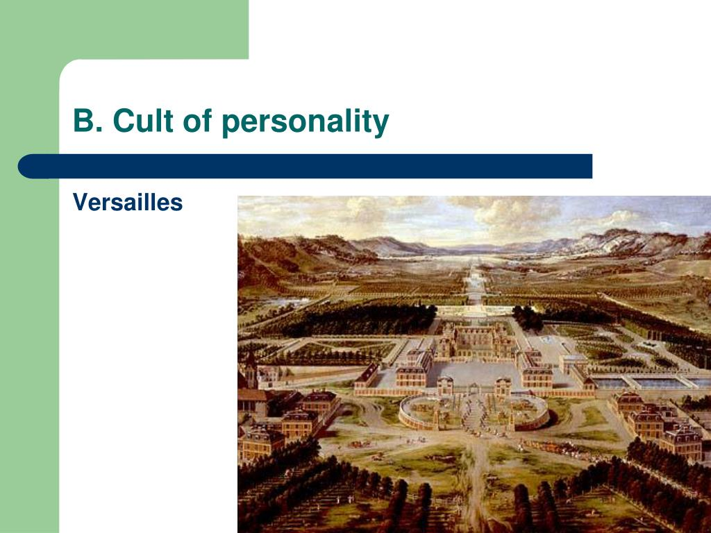 B. Cult of personality