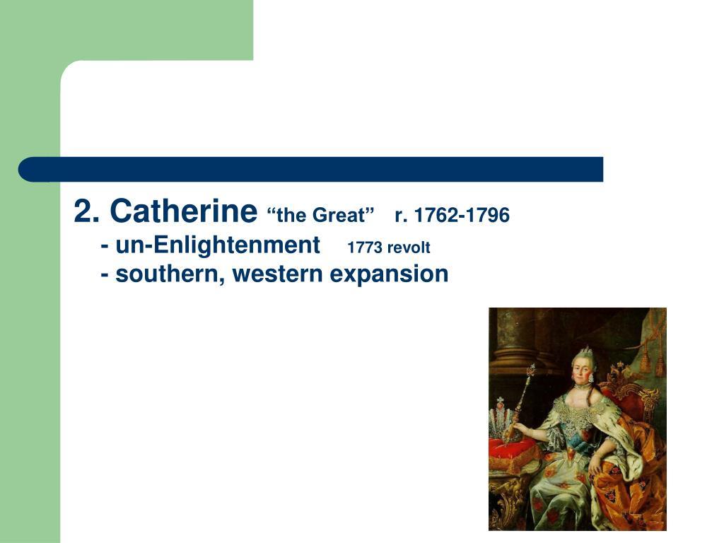 2. Catherine