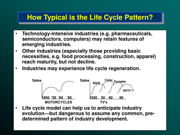 How Typical is the Life Cycle Pattern?