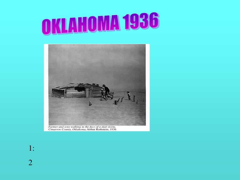 OKLAHOMA 1936