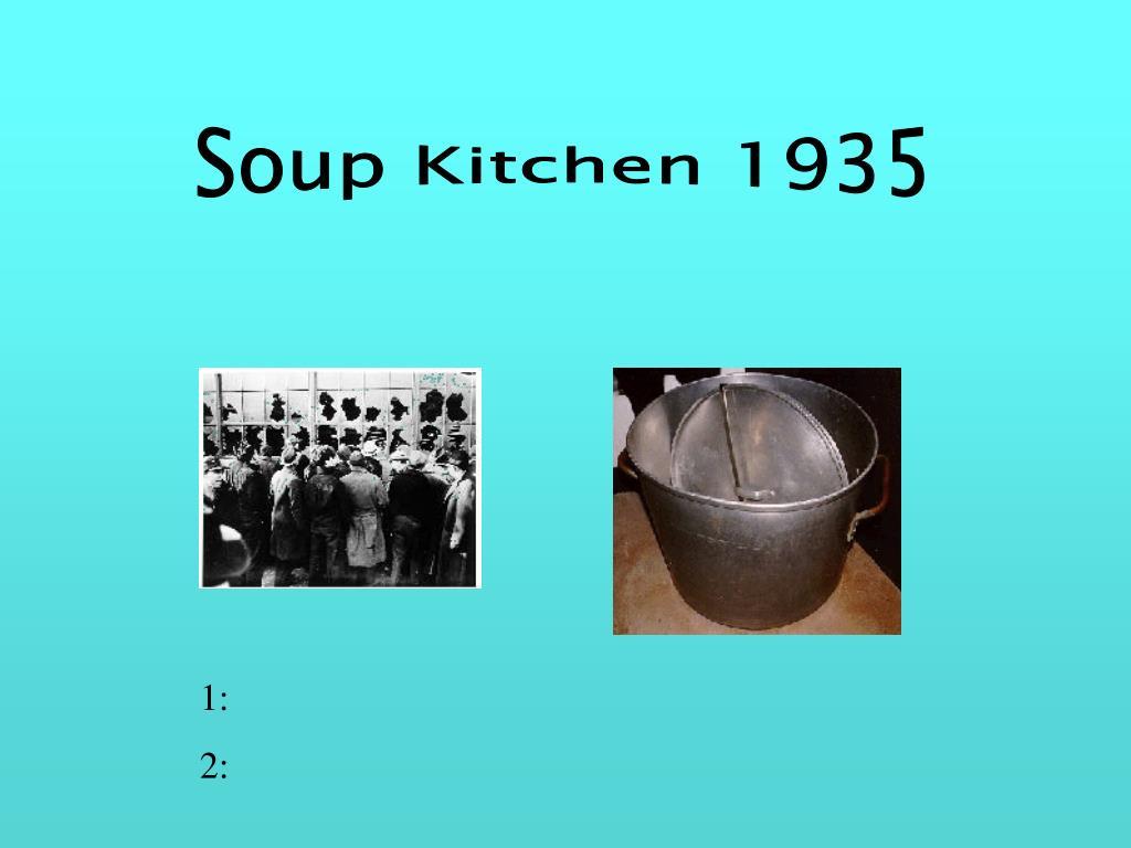 Soup Kitchen 1935