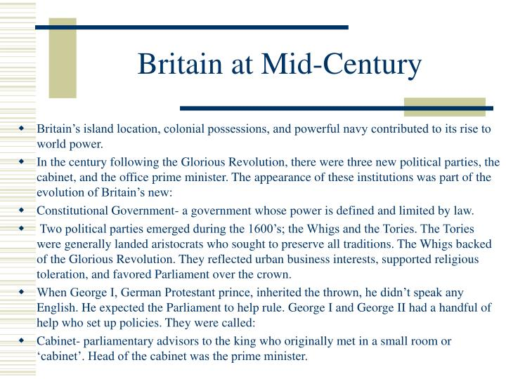 Britain at Mid-Century