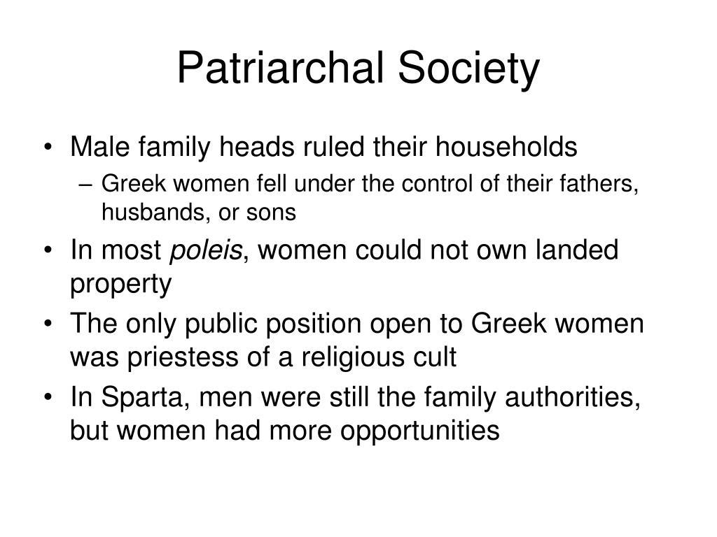 Patriarchal Society
