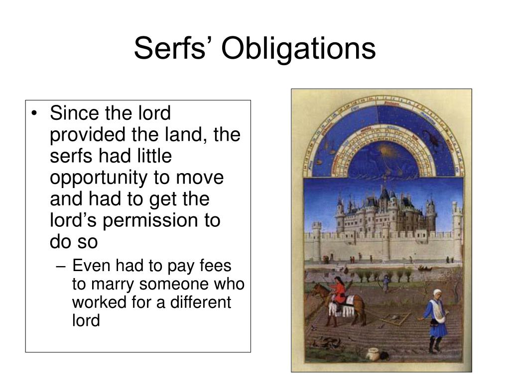 Serfs' Obligations