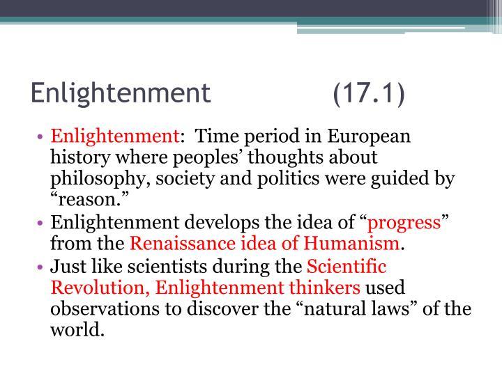Enlightenment(17.1)