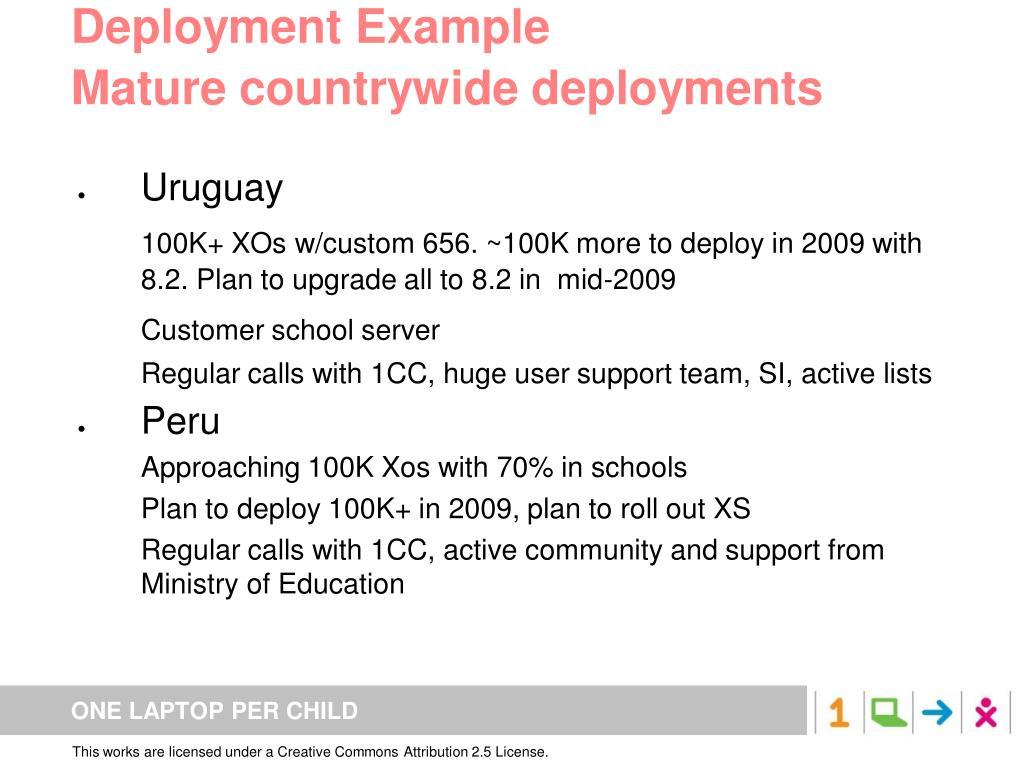Deployment Example