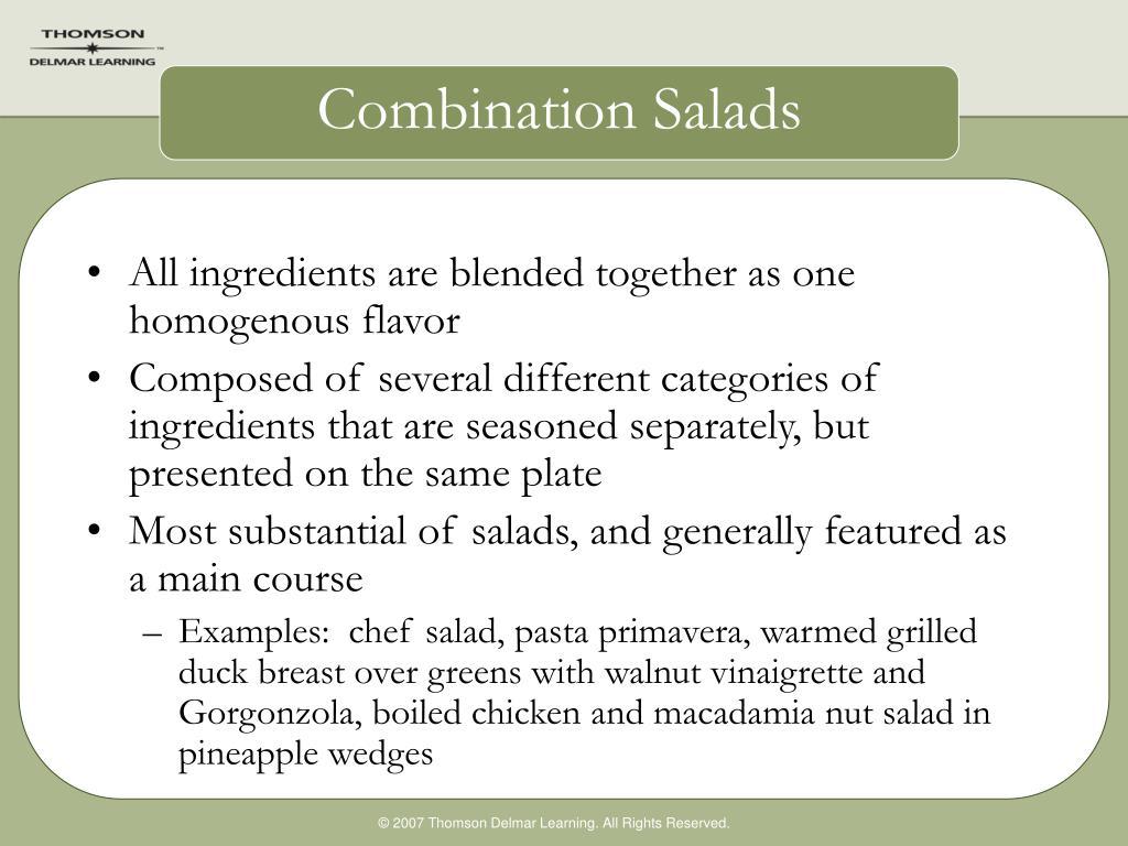 Combination Salads