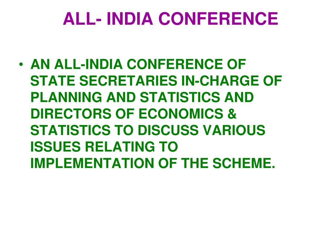ALL- INDIA CONFERENCE