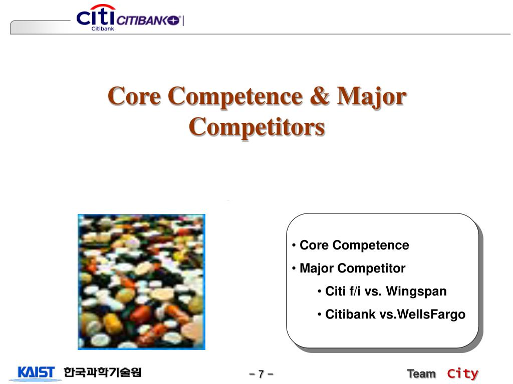 Core Competence & Major Competitors