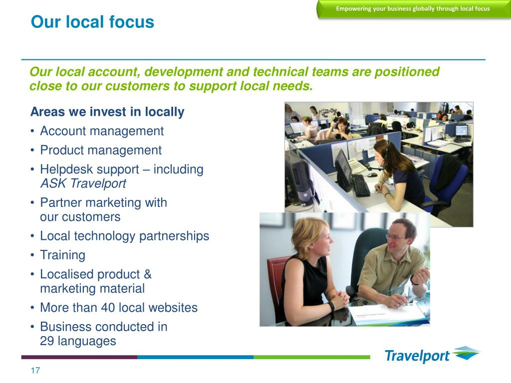 Empowering your business globally through local focus