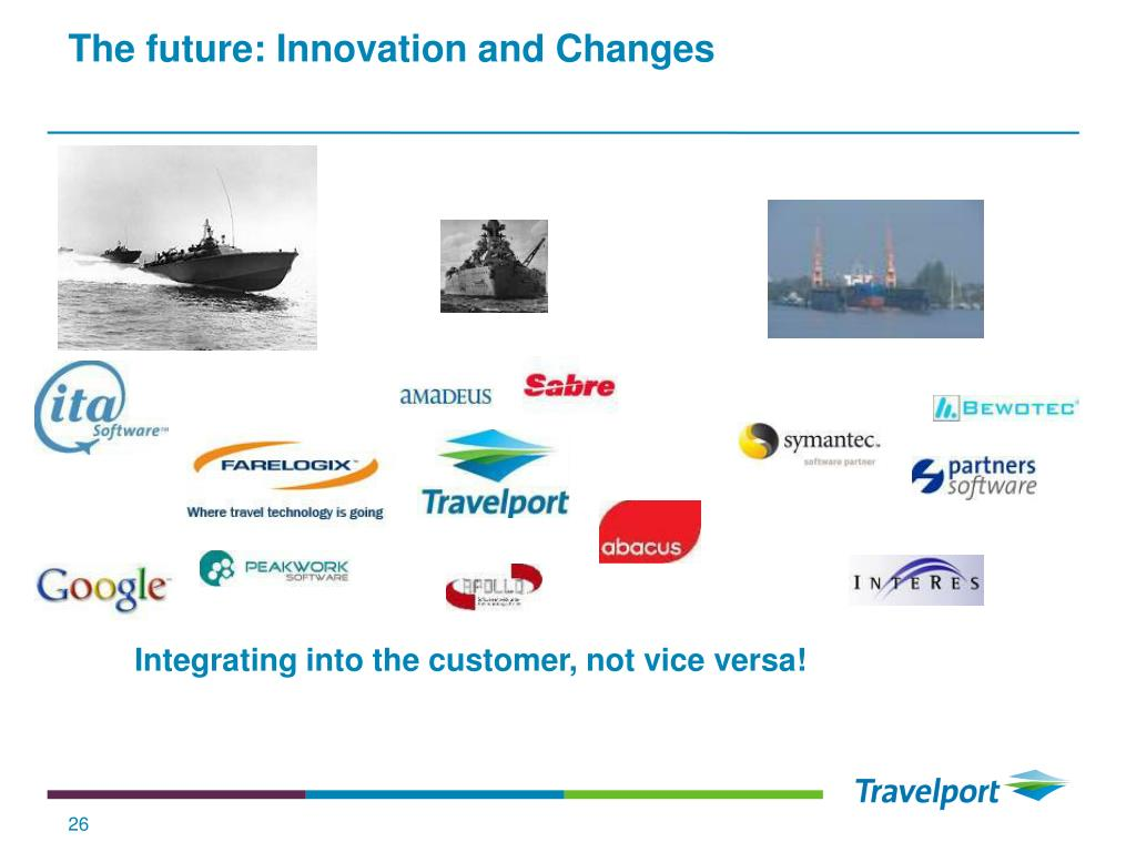 The future: Innovation and Changes