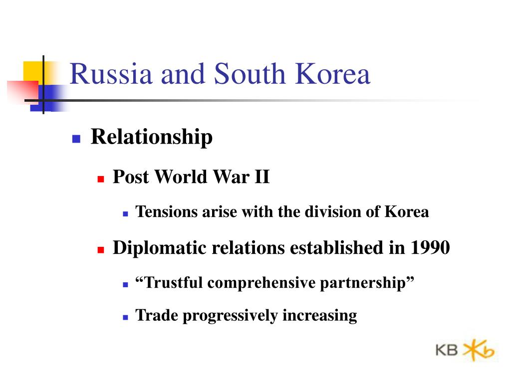 Russia and South Korea