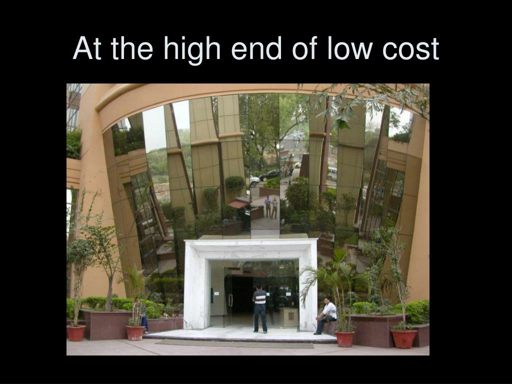 At the high end of low cost