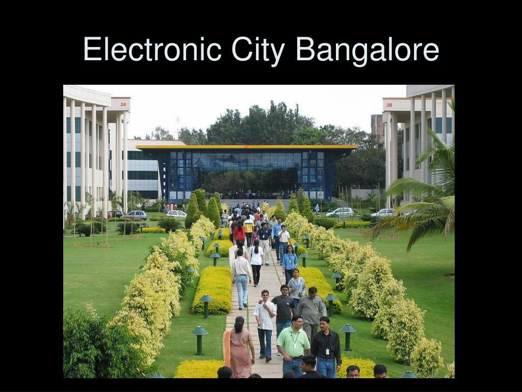 Electronic City Bangalore