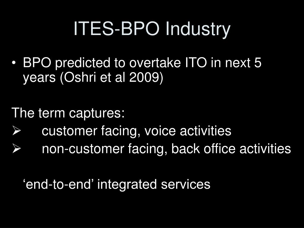 ITES-BPO Industry