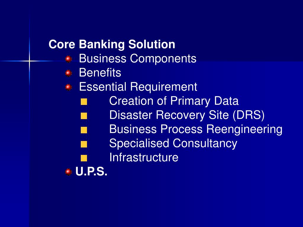 Core Banking Solution